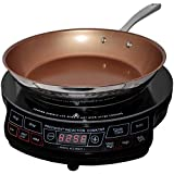 NuWave Portable Induction Cooktop & 10.5 Inch Pan (Certified Refurbished)
