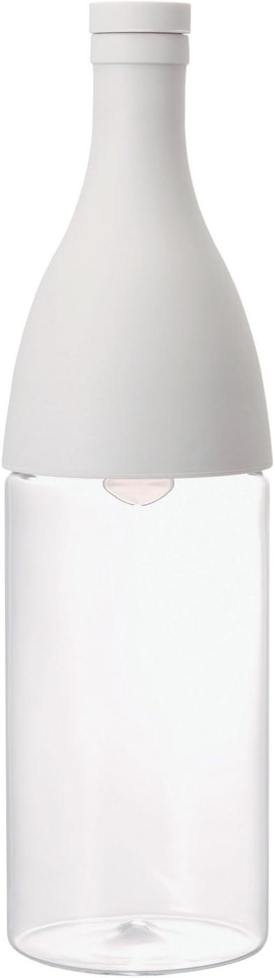 Hario Aisne Cold Brew Tea Bottle, 800ml, Pale Grey