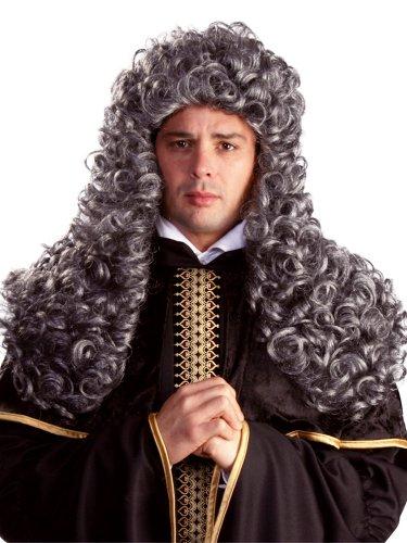 [Enigma Wigs Men's Aristocrat, Mixed Grey, One Size] (Aristocrat Halloween Costume)