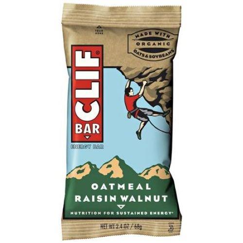 Clif Oatmeal Walnut Raisin Snack Bar, 2.4 Ounce -- 192 per case.