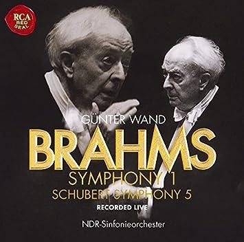 ブラームス:交響曲第1番/シューベルト:交響曲第5番(日本独自企画盤)