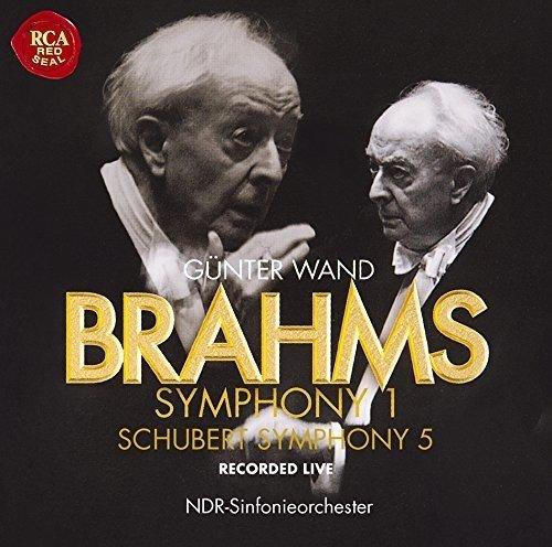ギュンター・ヴァント(指揮) 北ドイツ放送交響楽団 / ブラームス:交響曲第1番 / シューベルト:交響曲第5番