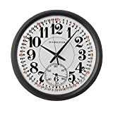Cheap CafePress – Hamilton Railroad Pocket Watch – Large 17″ Round Wall Clock, Unique Decorative Clock