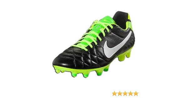 Penetración Disciplina costilla  Amazon.com: Nike Tiempo Legend IV FG Zapato de fútbol, Hombre, color  negro/electric verde/color blanco, 6,5 D US: Shoes