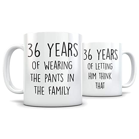 36th Anniversary Gift for Couple - Funny 36 Year Wedding Anniversary for Men and Women -  sc 1 st  Amazon.com & Amazon.com: 36th Anniversary Gift for Couple - Funny 36 Year Wedding ...