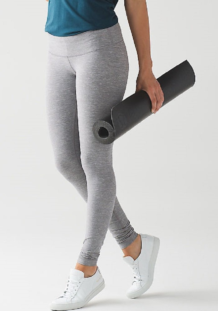 Lululemon Wunder Under Pant III Full On Luon Yoga Pants (Heathered Slate, 12) by Lululemon (Image #4)