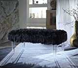 Iconic Home Trento Modern Contemporary Faux Fur