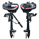 HANGKAI 6 HP Superior Engine Water Colling System Outboard Motor Two-stroke Inflatable Fishing Boat.