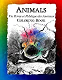 Animals (Vie Privee et Publique des Animaux) Coloring Book: From the 19th Century Satirical Work by J.J. Grandville (Histo...