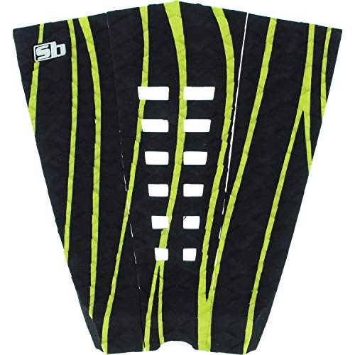 Sticky Bumps Team Black / Lime Green Surfboard Traction Pad