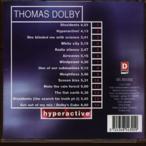 Hyperactive by Disky Records