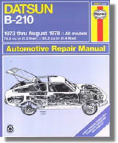 1978 datsun b 210 - 4
