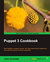 Puppet 3 Cookbook Front Cover