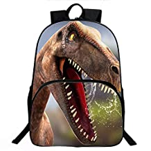 Enkman 3D Dinosaur Backpack, Lightweight, High Capacity Book Bag for Boys and Girls (C3)