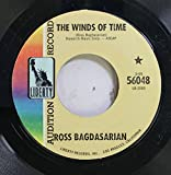 ROSS BAGDASARIAN 45 RPM THE WINDS OF TIME / WHEN I LOOK IN YOUR EYES