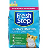 Fresh Step Scented Non-Clumping Clay Cat Litter, 14 Pounds (Pack of 3)
