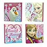 "princess bedroom ideas Disney Frozen Square Canvas Wall Art 11"" Toy (Pack of 4)"