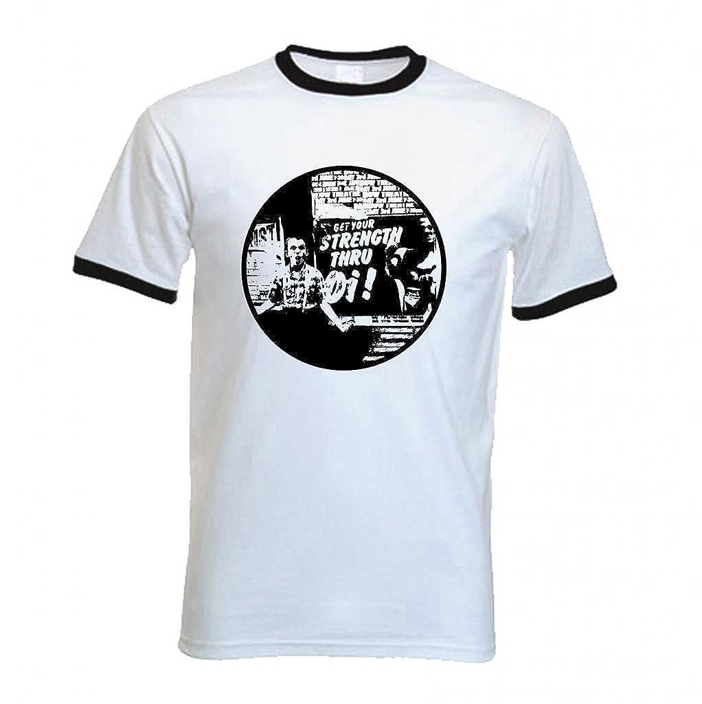 Fuerza para Hombre Pantalones Skinhead a través de la Camiseta de ...