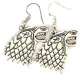 Game Thrones Merchandise Jewelry - Stark Game Thrones Earrings Women
