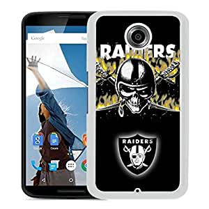 Oakland Raiders 10 White New Customized Design Google Nexus 6 Case