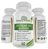Thermogenic Fat Burner Weight Loss Pills: Extreme Fat Burning Supplement - 60 Natural NON-GMO, Sugar Free, Gluten Free, Diary Free Veggie Capsules