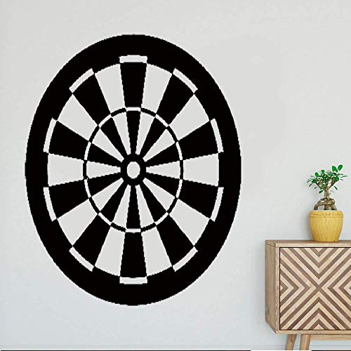 Perauz Decorative Wall Stickers Removable Vinyl Decal Art Mural Home Decor Wall Target Darts Board Sport Excellent Home ()