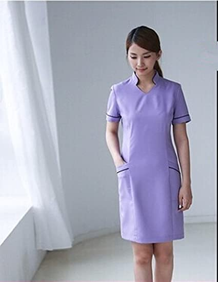 30dbfbe712b Xuanku Custom Design Hospital Nurse Uniforms Beauty Salon Medical Care  Workwear Overalls Fashion Nurses Dresses Medical Clothes
