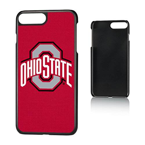 Keyscaper KSLM7X-00OH-SOLID1 Ohio State Buckeyes iPhone 8 Plus / 7 Plus / 6 Plus Slim Case with Solid Design
