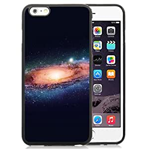 Unique Designed Cover Case For iPhone 6 Plus 5.5 Inch With Ak Galaxy Space Art Illust Planets Dark Phone Case