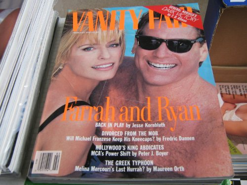 Vanity Fair Magazine (Farrah and Ryan , Divorced From The Mob , The Greek Typhoon, February 1991)