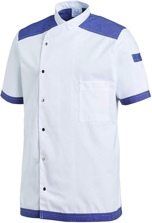 Casaca de Cocina Unisex. Camisa de Manga Corta para hostelería.: Amazon.es: Ropa y accesorios