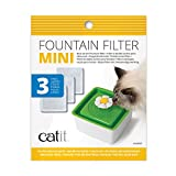 Catit 2.0 Mini Fountain Replacement Filters, 3 Pack