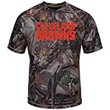 Majestic The Woods Cleveland Browns Camo Tee