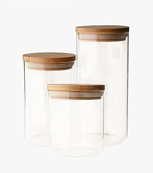Uh Choice Schone 3 Stuck Vorratsglaser Set Gleich Gross