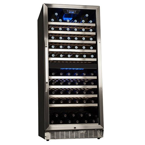 Edgestar 110 Bottle Built In Dual Zone Wine Cooler