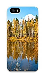 iPhone 5 5S Case Beautiful Autumn Scenery 3D Custom iPhone 5 5S Case Cover