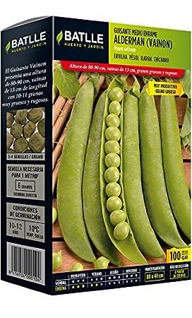 Semillas Leguminosas - Guisante Enano Dulce de Provenza 250 Gr. - Batlle: Amazon.es: Jardín