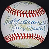 500 Home Run Club (13) Mantle, Williams, Aaron Signed OML Baseball #Y28463 - JSA Certified - NBA Autographed Miscellaneous Items