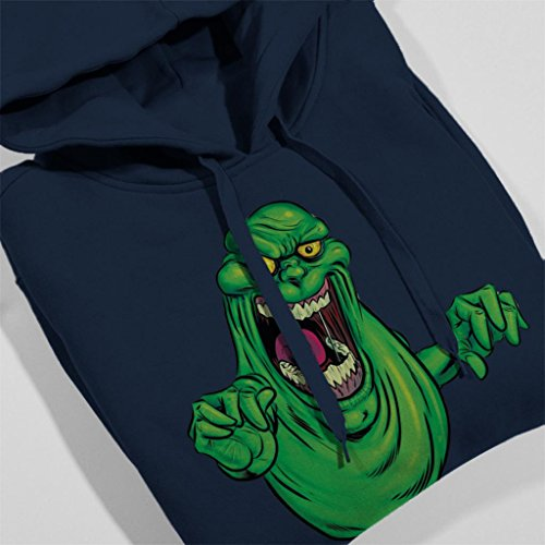 Ghostbusters Ghostbusters Slimer Hooded 7 Blue Navy Cloud Cloud Sweatshirt Women's City Sx1tw