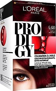 loral paris prodigy coloration permanente lhuile sans ammoniaque 460 - L Oreal Coloration Rouge
