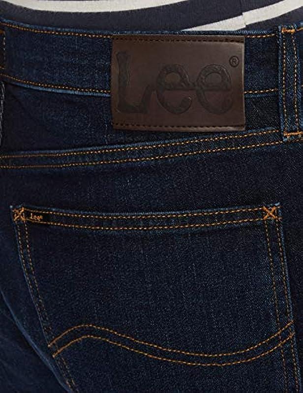 Lee Mens Austin Jeans, Dark Sidney, 34/32: Odzież