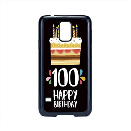 Cell Phone Case Compatible Samsung Galaxy S5100th Birthday Decorations
