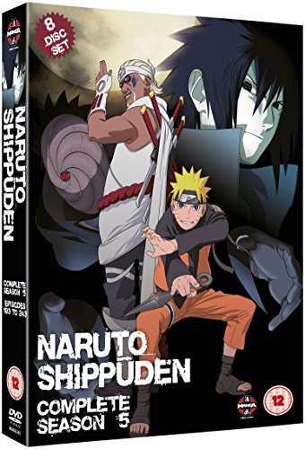 Naruto Shippuden Complete Series 5 Box Set (Episodes 193-244) [DVD] (Naruto Shippuden Complete Series 5 Box Set)
