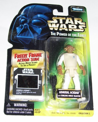 Star Wars: Power of the Force Freeze Frame Admiral Ackbar Action Figur