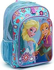Disney Store Frozen Elsa Anna Glitter Sparkle Backpack School Bag