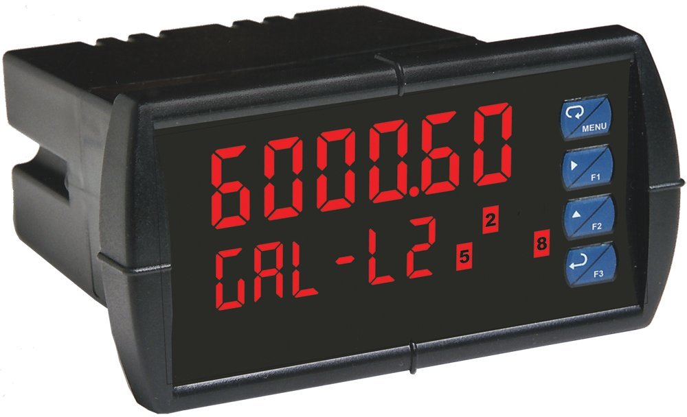 Flowline LI55-1211 DataView Level Controller, Meter with 2 Relays, 4-20 mA Repeater, 85-265 VAC