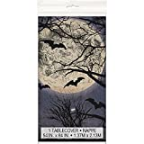 "Spooky Night Halloween Plastic Tablecloth, 84"" x 54"""