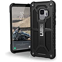 URBAN ARMOR GEAR Samsung Galaxy S9 [5.8-inch screen] Monarch Feather-Light Rugged [BLACK] Military Drop Tested Phone Case