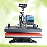 Joykit (SHIPPING FROM CANADA) Heat Press Machine-8 in1 Heat Press Machine Digital T-Shirt Mug Hat Plate Cap Transfer Sublimation (8-in-1)