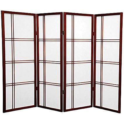 Amazon.com: ORIENTAL FURNITURE Zen Design Cross Hatch ...